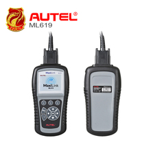 Autel Autolink ML619 CAN OBD II Code Reader +ABS/SRS Dianostic Scan Tool, Turns off Engine Light (MIL) and ABS/SRS Warning Light(China)