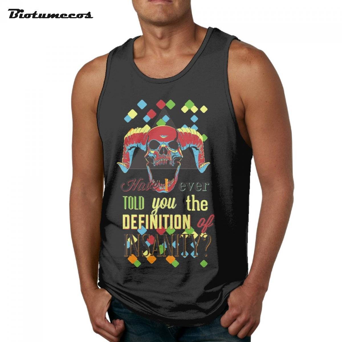 Men tank tops fashion 83