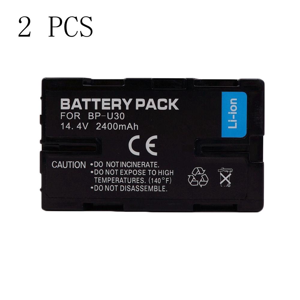 2 Pieces 2400mAh BP-U30 BP U30 Camera Battery For SONY PMW-100 PMW-150 PMW-160 PMW-200 PMW-300 PMW-EX1 PMW-EX3 PMW-F3 PHU-60K<br><br>Aliexpress