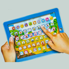 Promotion price Hot sale Russian language Y-pad children learning machine, Russian computer for kids, best gift LM002