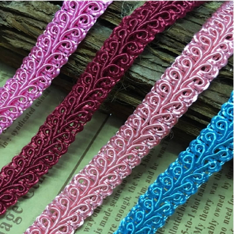 Lace Polyester nylon centipede side of the word side of the word with lace ribbon clothing accessories 13123(China (Mainland))