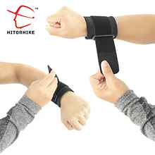 Hitorhike 1pc Adjustable Elastic Wrist Support Bracer Protect Wrapping Strap Reliable Weight Lifting Cuff Wrist Guard Bandage