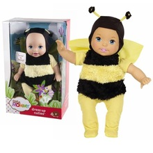 38cm little bee baby Little Mommy baby doll Fragrant Boneca doll toy figure toy