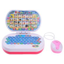 Multi-functional Learning Machine Laptop Game Toy Baby Story Telling English Learning Children Early Educational Toys(China)