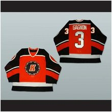 Custom XS-5XL Fort Wayne Komets Sean Gagnon 3 Hockey Jersey Stitch Sewn Any Player Or Number Free Shipping(China)