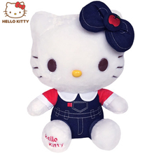 Kawaii Hello Kitty Plush Cartoon Character Doll 2017 New Style Toys For Children Soft Stuffed Kids Birthday Gift Kids Toys(China)
