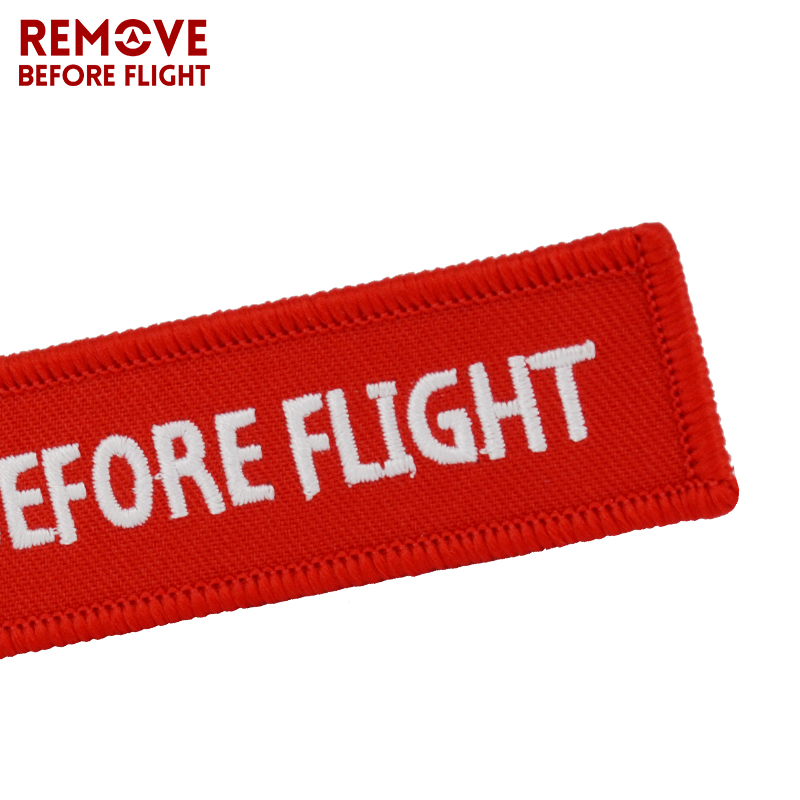 Kiss Me Before Flight Key Chain Label Red Embroidery Key Ring Special Luggage Tag Chain for Aviation Gifts Car Keychain Jewelry (11)
