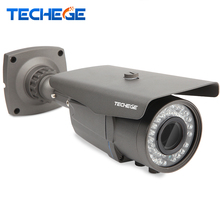 Techege AHD 2.0MP 3000TVL IMX322 2.8-12MM Varifocal Lens CCTV Camera 1080P 1920*1080 IP66 Outdoor IR Security Video Surveillance