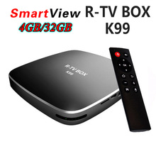 4GB 32GB Rockchip RK3399 Android 6.0 TV BOX 802.11AC 2.4G 5G Dual WIFI BT4.0 1000M LAN USB3.0 Type-c Media Player R-TV BOX K99(China)