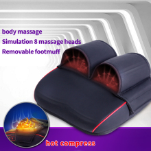 JinKaiRui Infrared Heating Shiatsu Kneading Reflexology Electric Massage Pillow Foot Neck Body Circulation Spa Health Care Massj