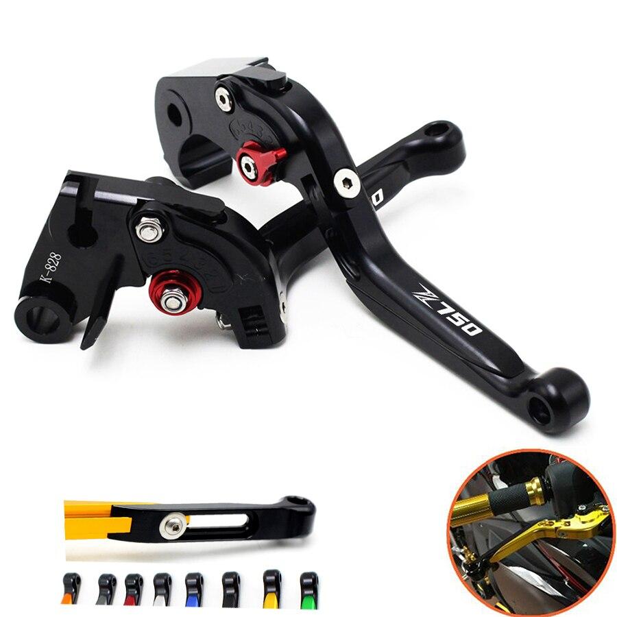 clutch brake lever motorcycle Telescopic folding clutch brake lever For kawasaki Z750 (not Z750S model) 2007 2008 2009 2010-2012<br>