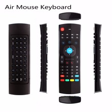 MX3 2.4GHz Air Mouse Wireless Keyboard Remote Voice Control For Smart TV BOX PC #232553(China)