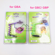 [15PC/ LOT] Wholesale Price for Worm Light backlight for Gameboy Advance/ Color/ Pocket for GBA GBC GBP Game Console
