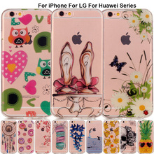 B67 Luxury Back Soft Silicon Phone Case for iPhone 7 Cases 5S SE 5C 6S Plus 6SPlus Full Cover For iPod Touch 5 6 Shell Coque Bag