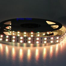 Super Bright Double Row 5050 SMD 600 LED Strip DC12V non-waterproof Flexible Light 120 leds/m,5m/lot White Warm White RGB
