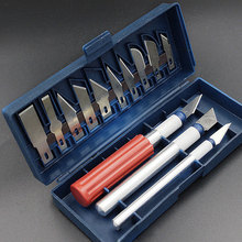13pcs/Set Wood Carving Tools Fruit Food Craft Sculpture Engraving Scalpel DIY Cutting Tool CLH
