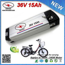 High Quality 500W E Bike Battery 36V Lithium Battery 15Ah 36V Electric Bicycle Battery used Samsung 30B 15A BMS + 2A Charger