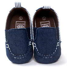 Baby Shoes Boy Striped Shallow Slip On Baby Toddler Soft Sole Infant Shoes Tenis Infantil(China)