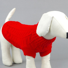 Large Cute Small Pet Dog Knitwear Outdoor Warm Puppy Coats Sweater Clothes Jumper Free shipping  0206