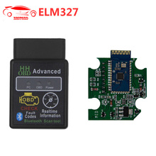 ELM327 with PIC18F25K80 Chip V1.5 Bluetooth OBD2 Scanner Software V2.1 OBDII CAN-BUS Works ON Android Torque/PC