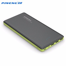 Original Pineng 20000mAh Power Bank External Battery Pack Backup 3 Port Output For Iphone 5 5s 6 7 Xiaomi With LED Light