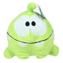8 Inches Cut The Rope Happy Om Nom Stuffed Plush Toys Cute Cartoon Om Doll stuffed toys for birthday gift