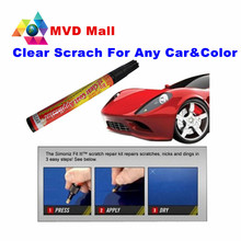 Hot 1Pcs FIX It Pro Mending Car Scratch Remover Repair Paint Pen Simoniz Clear Coat Applicator For Any Color Free Shipping