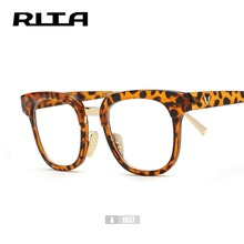 New Retro V Brand Glasses Frame Rita Big Size Square Eyeglasses Black Frame A1057 Oversized Vintage Glasses For Women Men oculos