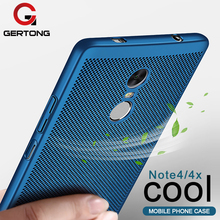 Buy GerTong Phone Cover Xiaomi Redmi Mi5X MiA1 Mi6 Mi5 Mi5S Mi5C 4X 4A Y1 Note 4X 4 Pro 5A Prime 3 3S PC Heat Dissipation Case for $1.13 in AliExpress store