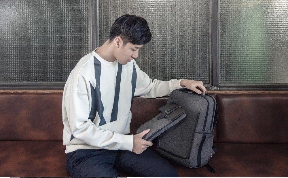 Xiaomi Fashion Commuting Waterproof backpack Removable Front Bag Big Capacity men backpacks travel backpack Laptop Bag male H0 (39)