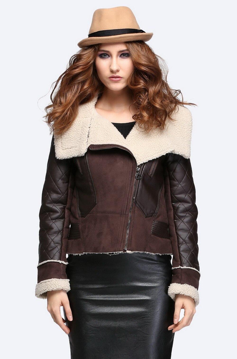 Achetez veste en faux Gros mouton peau des de en femmes Ligne en à TwrT1