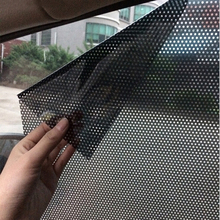 2pcs/lot Uv sticker Car sunshade electrostatic stickers auto static film adsorption force sunshade stickers car styling