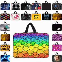 Prints Laptop Bag 15 13 7 10 12 14 Tablet Neoprene Sleeve Netbook Handle Bags Computer Accessories Funda Bolsas For Acer Macbook