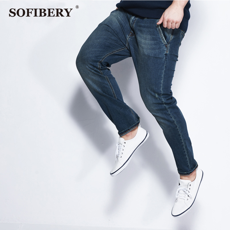SOFIBERY jeans big yards Slim was thin stretch jeans Mens jeans famous brand design mens jeans big size 29-52 LP141003Одежда и ак�е��уары<br><br><br>Aliexpress