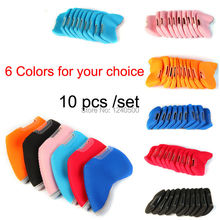 Free Shipping 10pcs/set Golf Clubs Head Cover Golf Club Iron Putter Head Protector Set Golf Headcover Multi Color