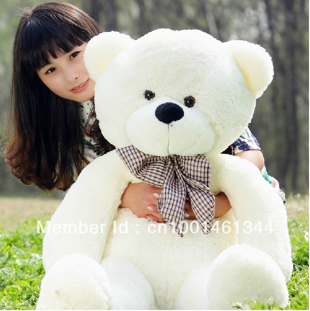 160cm teddy bear plush toys high quality and low price skin holiday gift birthday gift valentine gift stuffed animals<br><br>Aliexpress