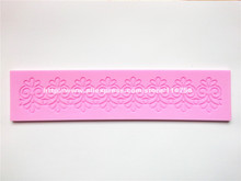 Free Shipping Fondant Cake Silicone Lace Mold Sugar Paste Sugar Art Tools Cake Decoration 607