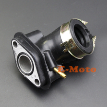 Intake Manifold Pipe For GY6 Moped Scooter ATV Go Kart SunL TaoTao 49cc 50cc 60cc 80cc Engine(China)