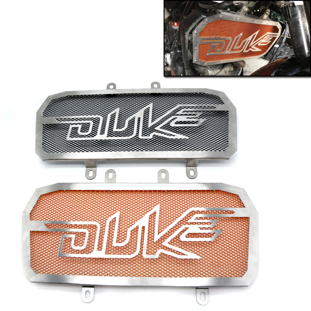 Motorcycle scooter autocycle Radiator Grille Guard Cover Protective Case Radiator Grille Guard Cover For KTM Duke 200 390<br>
