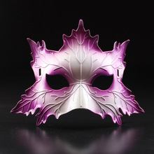 Venetian Masks Halloween Props Sexy Plastic Masquerade Mask Fox 4 Colors Gags & Practical Jokes TH0048
