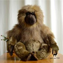 Simulation Baboons Doll Toy Pillow African Wildlife Large Dolls Cute Plush Animals Toys Gifts 40cm(China)