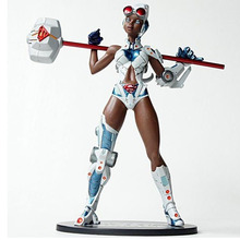"DC Direct Ame-Comi Heroine Series Steel 18cm/7"" PVC Figure Free Shipping(China)"