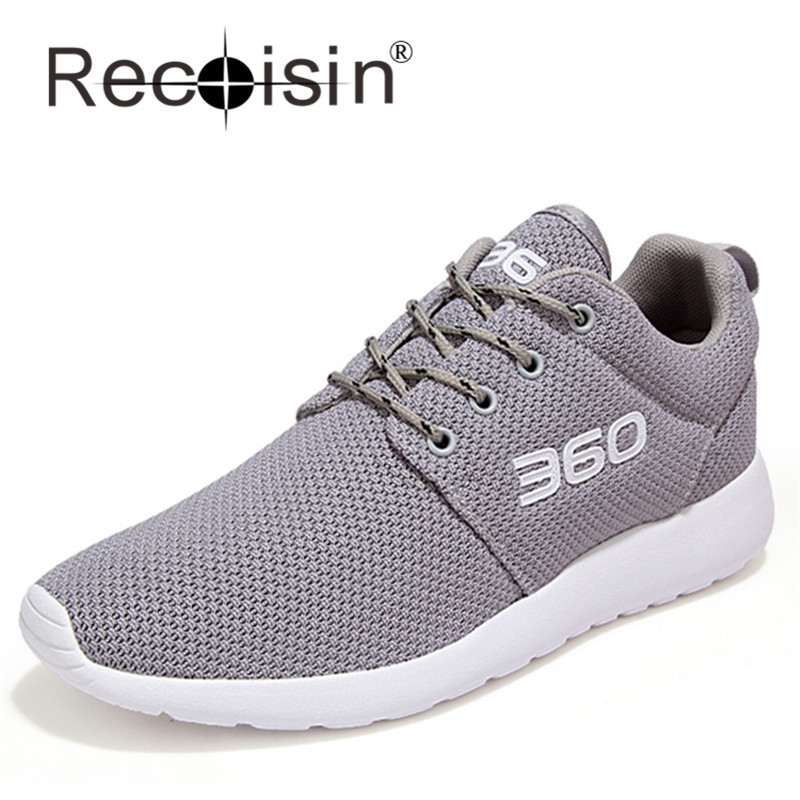 RECOISIN 2017 Plus Size 46 Summer Style Men Shoes Outdoor Mesh Breathable Casual Shoes Lover Trainer Light Jogging Shoes 360<br><br>Aliexpress