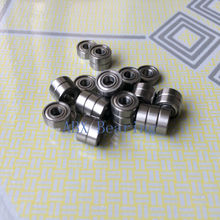10pcs MR63ZZ MR63-2RS L-630ZZ 673ZZ  deep groove ball bearing 3x6x2.5 mm miniature bearing ABEC3