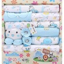 18pcs 100% cotton newborn baby clothing set infant clothing baby bodysuit baby girls boys clothes newborn baby clothes gift TZ33