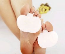 Foot Care Product Silicone Metatarsal Toe Gel Forefoot Pad Separators Forefoot Foot Pads Shoes Insoles(China)