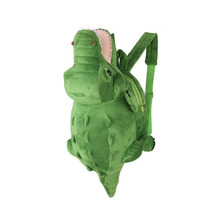 New Lovely Cartoon Soft crocodile Animal Backpack Toys for Kids School Bag Comfortable Plush Wrap Baby Bags Plush toys for child