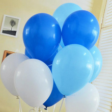 100pcs/lot air ballon 10inch Latex Birthday balloons Ball children party baby big ballon decoration inflatable wedding balloon(China)