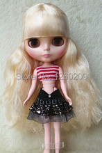 Where to Buy Blyth Doll Neo Doll with Special Yellow Long Curly Hair Suitable for DIY Change Baby Toy And Girl Gift(China)