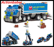 Actionbabei DIY 8 in 1 Compatible with Lego Truck Building Blocks Set Bricks Toys Children Christmas Birthday Gift S